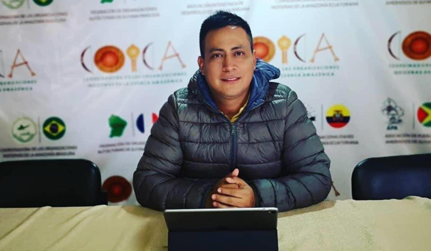 a MAPP/OEA lamenta el fallecimiento de esta autoridad indígena y defensor de Derechos Humanos, quien murió a causa del Covid-19.