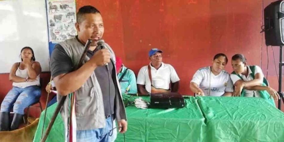 El gobernador suplente del Resguardo indígena Piguambí Palangala, ubicado en Tumaco, fue asesinado este jueves por desconocidos. Fue durante años un líder querido y reconocido por el pueblo Awá. Perfil.