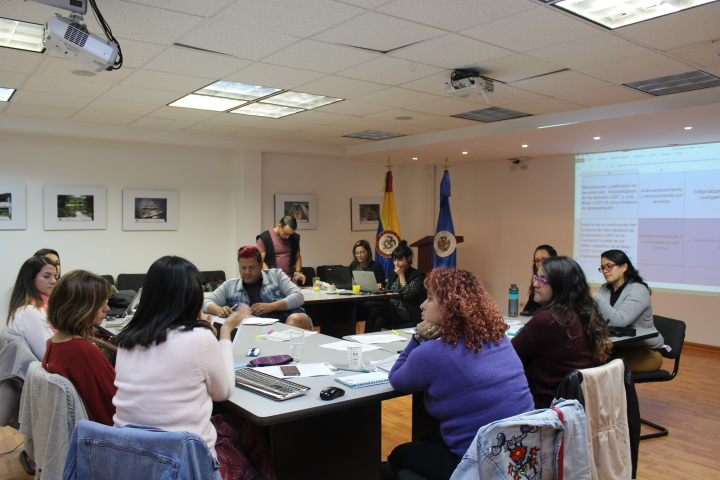 Proceso de reparación colectiva de la Mesa LGBT Comuna 8 de Medellín