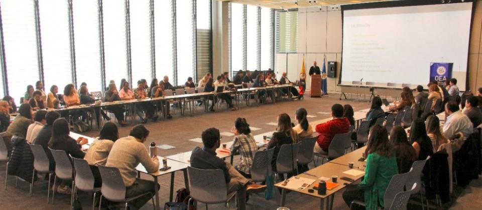 MAPP/OEA reafirma su compromiso con la construcción de paz en Colombia en Taller Nacional