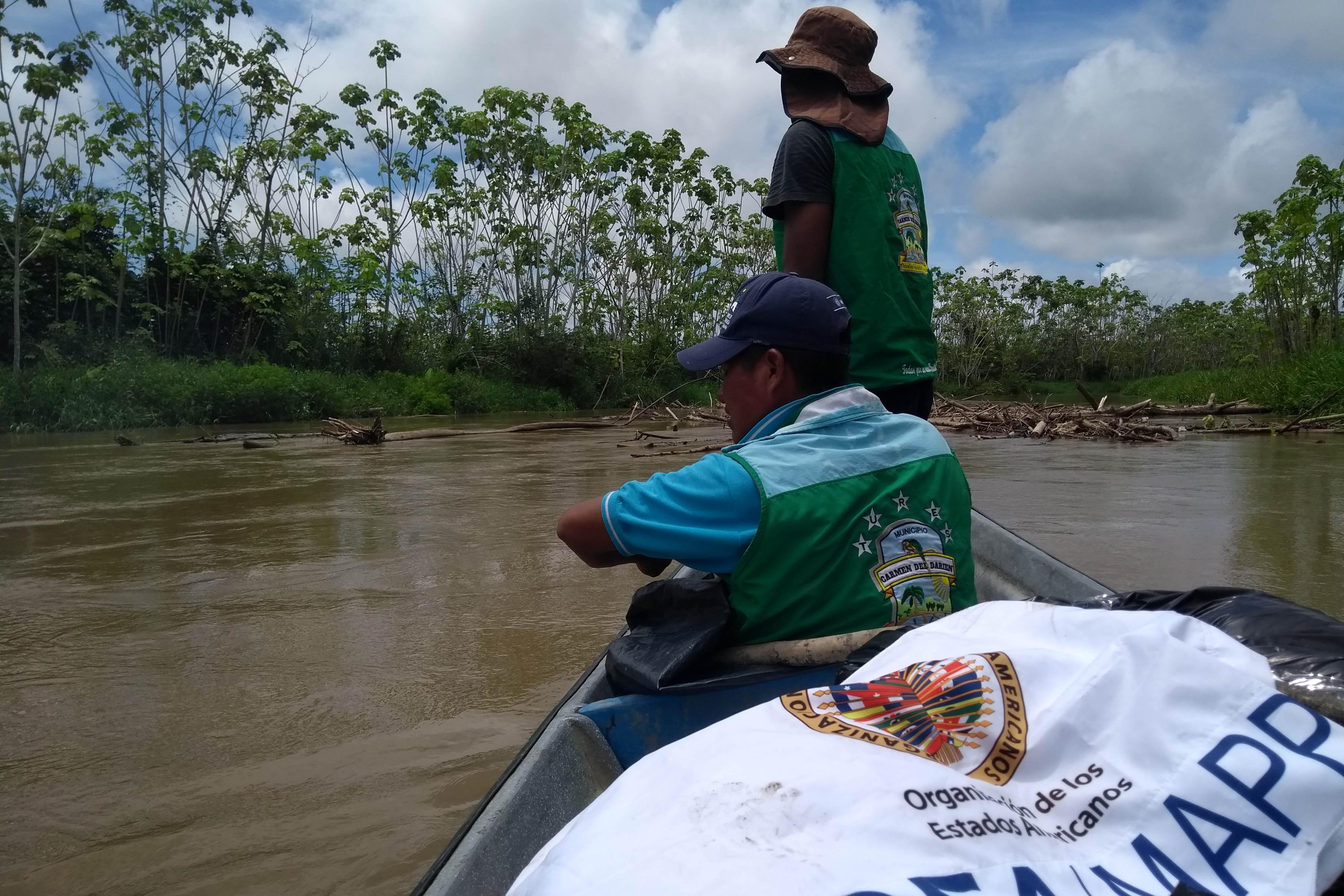 Recorrido Río Jiguamiandó